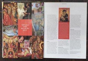 Icoon schilderen, interview met Martin Mandaliev de icoon schilder