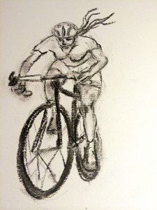 Lady Vuelta, tekening