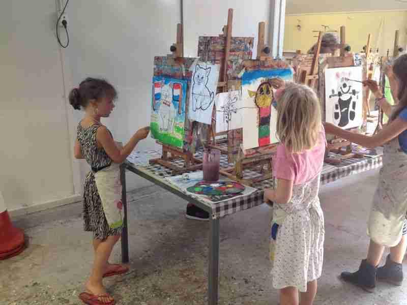 kKinderpartij Robin schilderles atelier #Haarlem