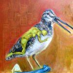 Olieverf schilderij, Lust voor het oog, linkerpaneel