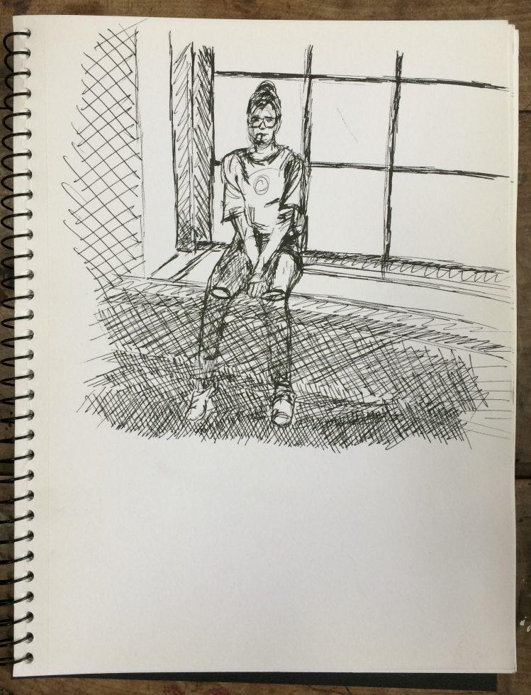 tekenboekje Ella Looise