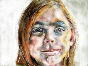 Portret schilderen op je iPad met de app PaperbyFiftyThree