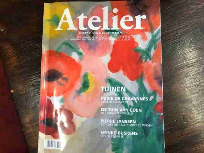 Atelier magazine nr. 189