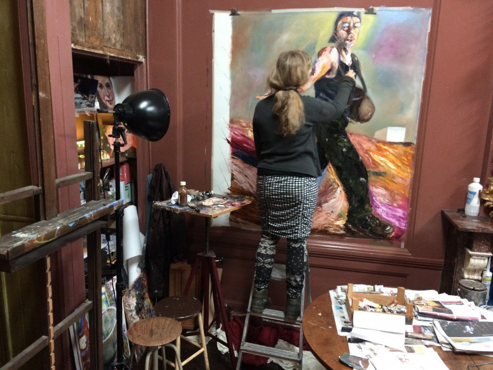 schilderproces