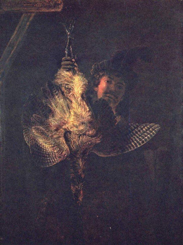 Zelfportret Rembrandt 1639