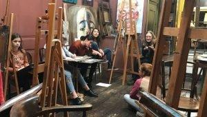 Schilderles atelier #Haarlem