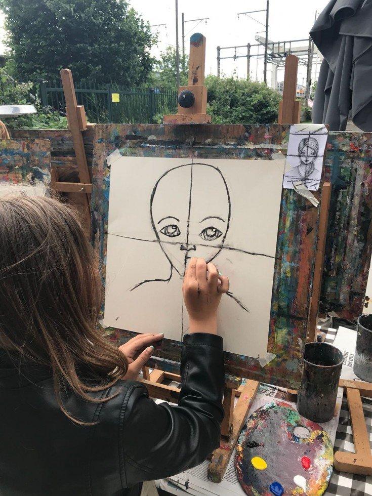 Workshop schilderles