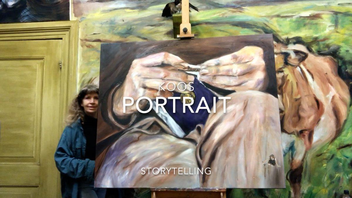 Het Verhaal achter het schilderij portret van Koos