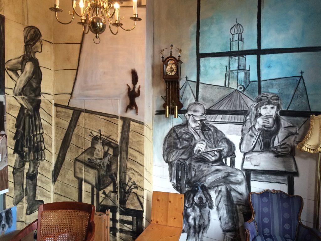 muurschildering Atelier Ella Looise