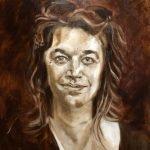 Ella Looise- De onderschildering Portret van Mira