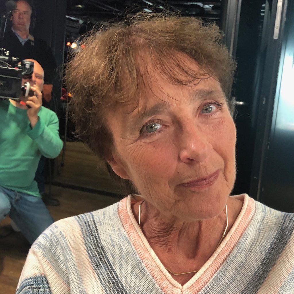 Portret van Clairy Polak fotosessie Sterren opo het Doek. de ogen zijn de spiegels van de ziel