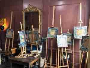 Ella Looise atelier #Haarlem schilderlessen