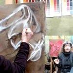 Atelier Online   Ella Looise. Schilderles video serie Witte kleding schilderen als de Oude Meesters, Ella Looise
