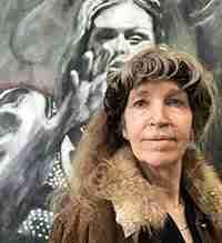 Ella Looise, kunstenares. Foto voor over mij pagina