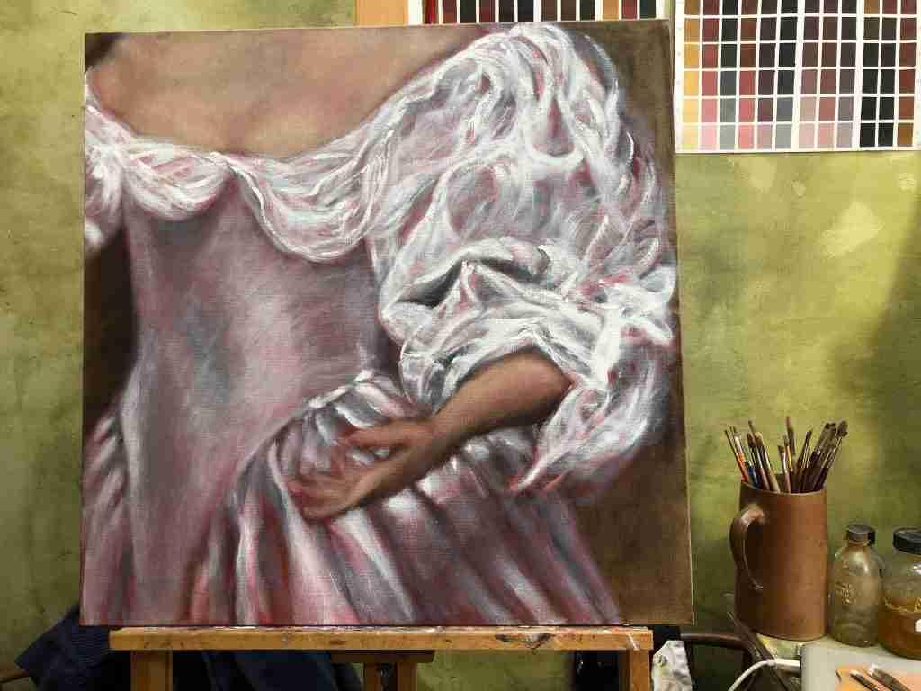 Video 5 Ophogen Wit, een schilderles uit de video serie 'schilderen als de Oude Meesters'