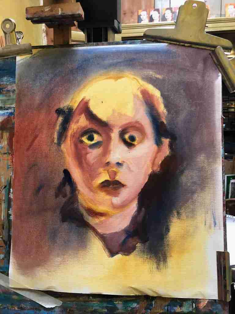 Ella Looise Atelier Online Portret leren schilderen